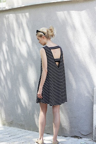 Zuzanna Wlodarz -  - Striped dress