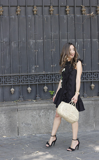 Besugarandspice FV - Zara Dress, Mango Heels - Black Summer Dress