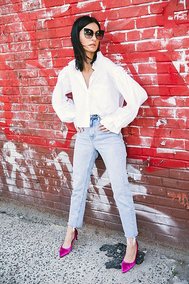 URBAN CREATIVI-TEA - Dita Sunglasses, Zara Shirt, Topshop Jeans, Zara Shoes - Bold Brave & So Many Details / urbancreativi-tea