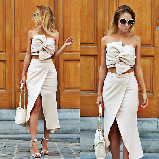 Ruxandra Ioana - Chicwish Two Piece Dress - No wonder