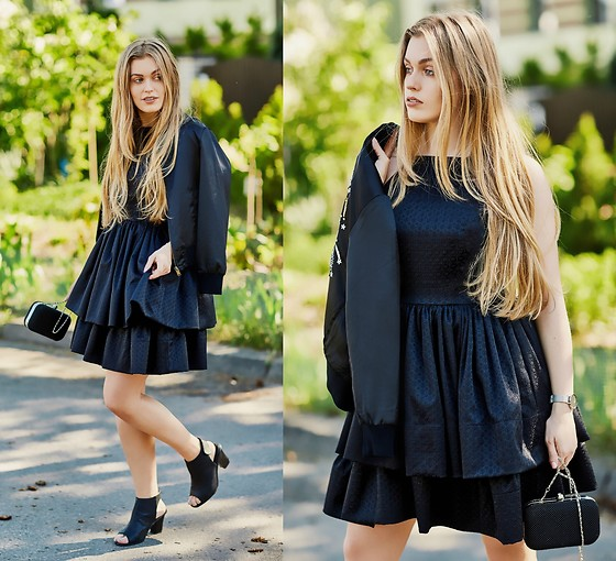 Marta Caban - Sopsi Dress - BLACK DRESS