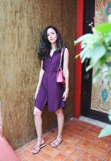 Camilla Brozzo - Hering Dress, Arezzo Bag, Arezzo Flats - Colors of the weekend