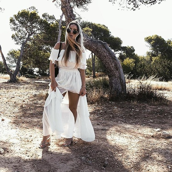 Fashiontwinstinct - Storets Dress, Mango Shoes, Gucci Bag - In the nature of Ibiza.