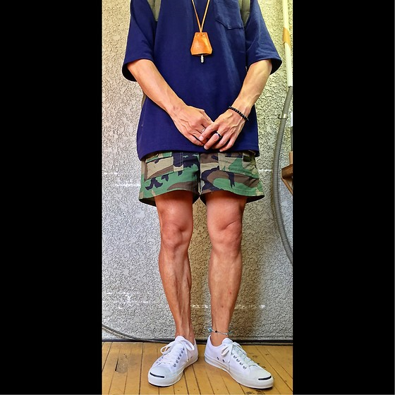Keysyu Takagi - Coen Tops, Gungho Bottom, Converse Shoes - Outfit