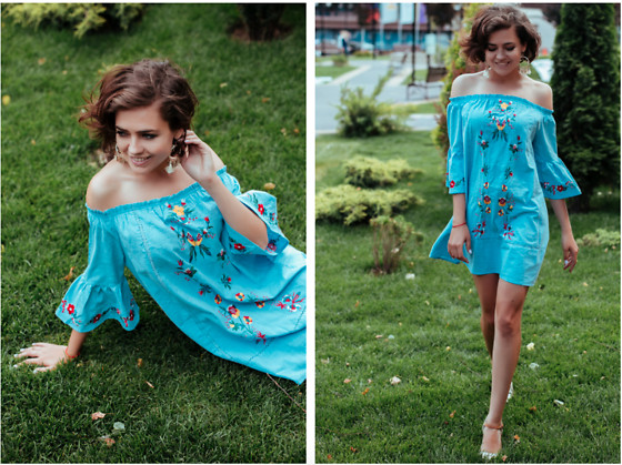 Katerina Lozovaya - Shein Dress - Embroidery dress