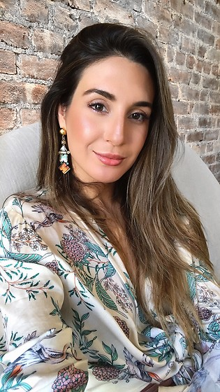 Alyssa Melendez - Floral Wrap Top - Street Style: All Wrapped Up