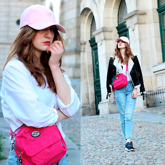 Martina L. - Newchic Pink Bag - TOUCH OF PINK