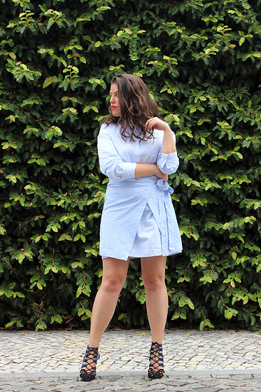 Joana Sá - Zara Dress, Zara Shoes - Join life