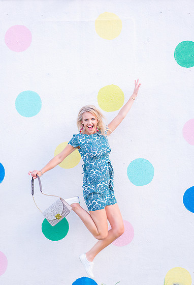Susanne Bender - Romwe Summer Dress, Furla Metropolis Shoulder Bag, Keds Sneakers - When you are happy and you know it....