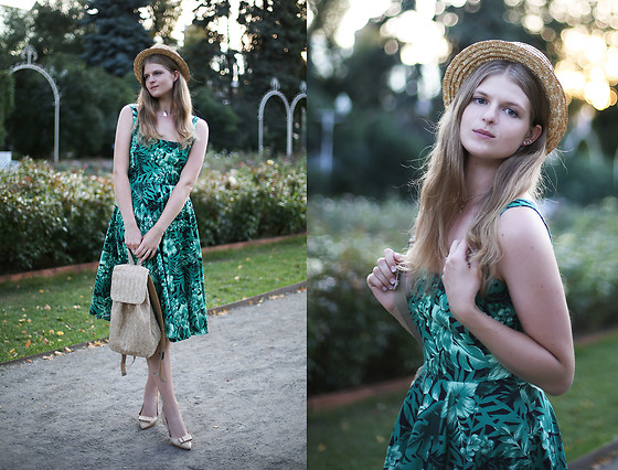 Margarita Lemeshko - Zara Dress - Tropical Vacation