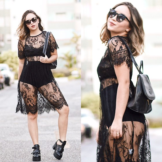 Ana Luísa Braun -  - LACE BLACK DRESS