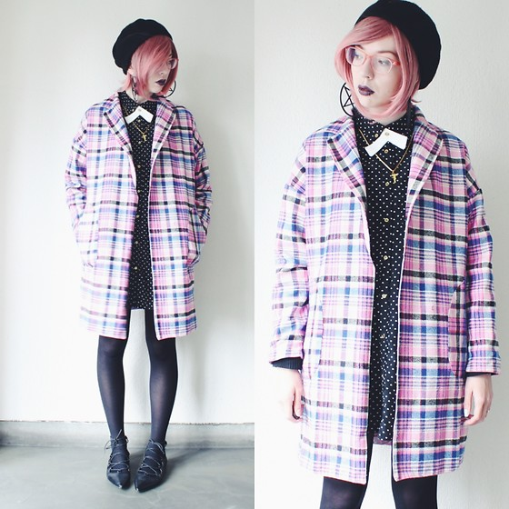 Candy Thorne - Handmade By Me Plaid Coat - Clueless
