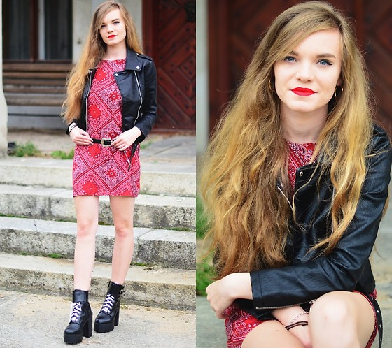 Karolina N. - Dresslily Dress, Gamiss Boots, Rosegal Jacket - #7days7looks: Tuesday