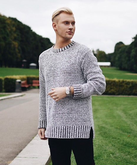 Piotr Ryterski - Longines Watch, H&M Sweater - Don't sweat