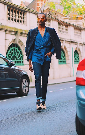 NIIMA BOA -  - Navy Blue Attire For Job Interviews