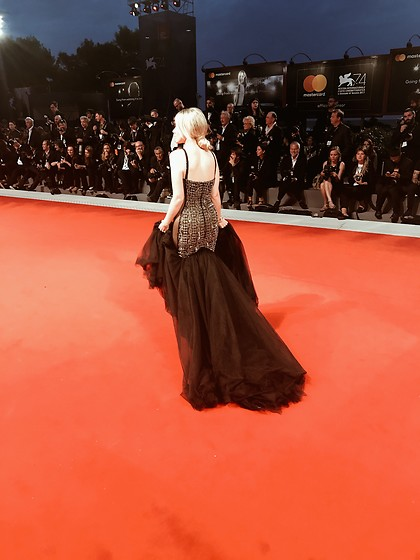 Joicy Muniz - Galia Lahav Dress - Venice Film Festival - Red Carpet