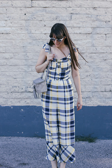 Danielle F - Moon River Jumpsuit - Gingham Style