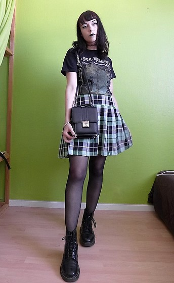 Marguerite Jam - Black Sabbath Shirt, Dr Martens Shoes - Black Sabbath
