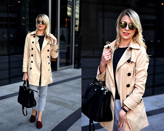 Agnieszka Robak - Guess Bag - Trench coat