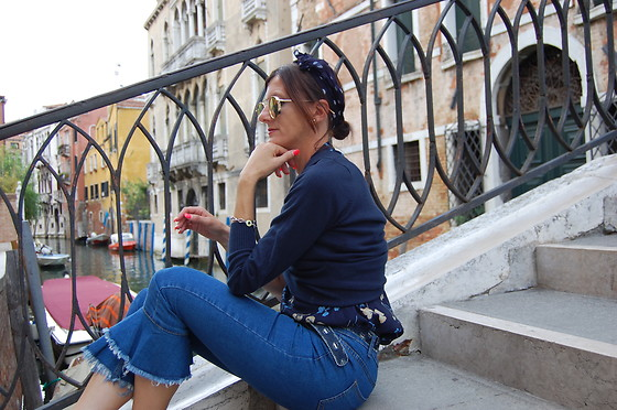 Babaluccia - Zaful Denim Pants - VENICE OOTD