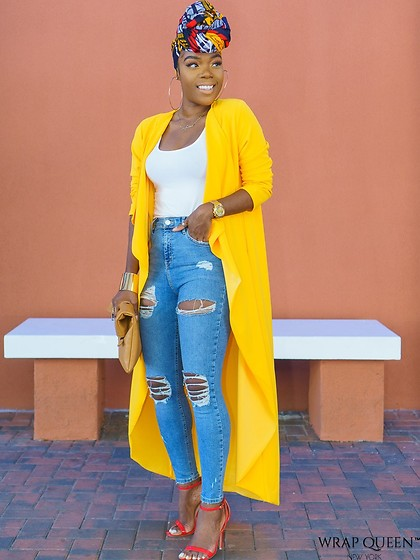 Kelly W -  - Come thru Mustard Jacket