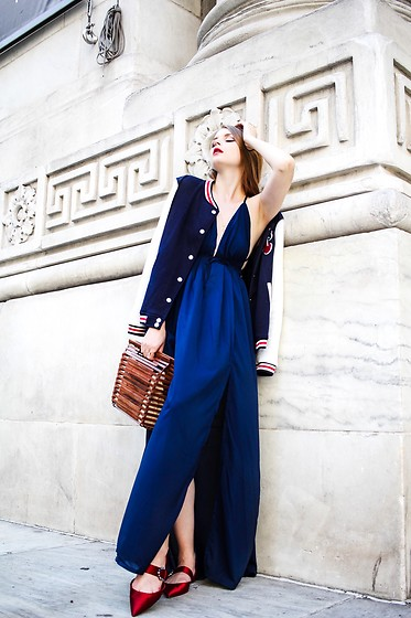 Julia - Chicme Dress, Zara Bag, Zara Shoes - Navy