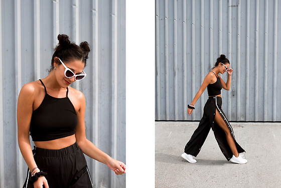 Maray - Zaful Sunglasses, H&M Top, Rosegal Pants, Destroy Sneakers - Pants Return