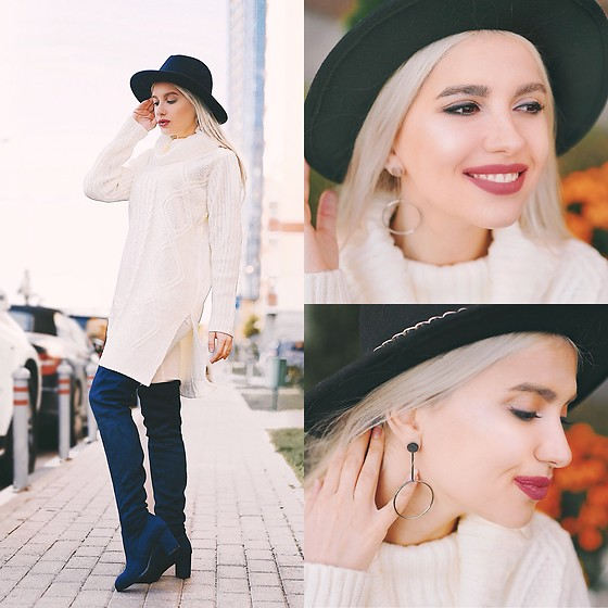 Kristina Belskih - Earrings - Street look