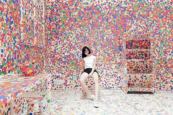 Ren Rong - Something Borrowed Top, Shein Denim Shorts, Paper Planes Sneakers - The Obliteration Room