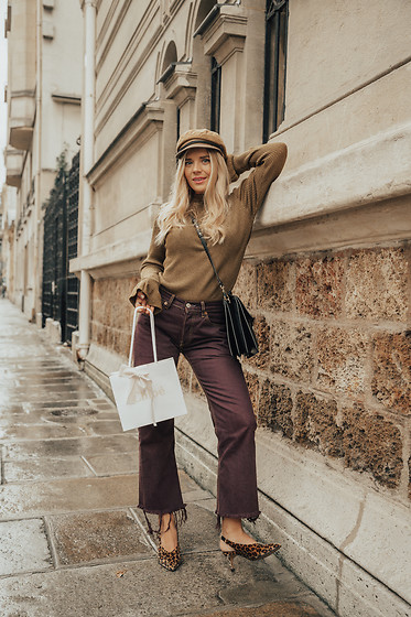 Isabella Thordsen - Chloé, Asos, Levis Urban Outfitters - In Paris with Chloé
