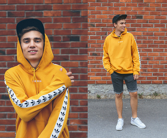Andreas Sundbom - Adidas Hoodie, Cheap Monday Shorts, Nike Sneakers - Smile, it's Friday!