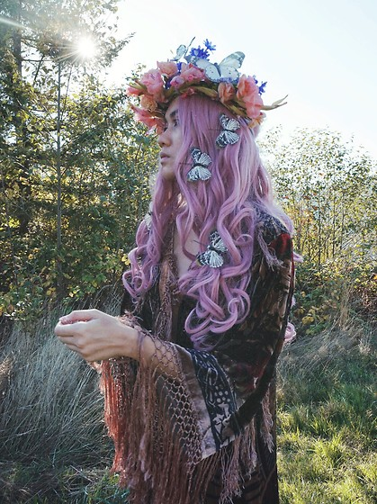 Sera Brand - Rose Gal Pink Wavy Wig - Something Magical
