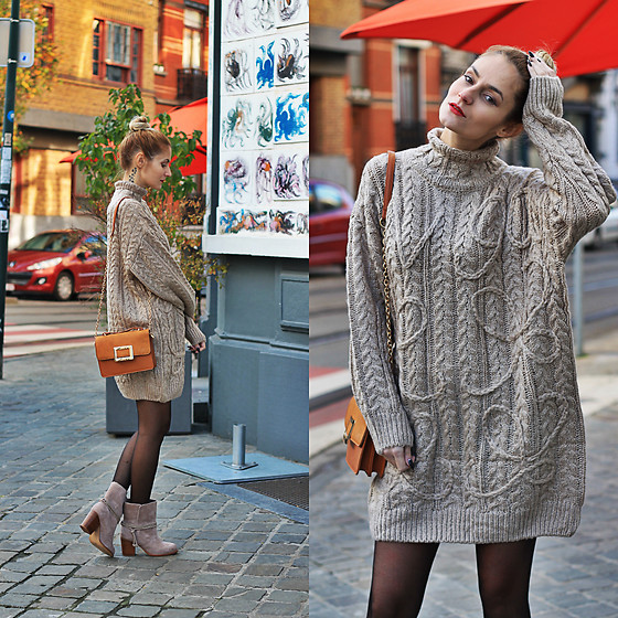 Ruxandra Ioana - Chicwish Sweater, Rosegal Bag, Splendid Boots - Escápate Conmigo