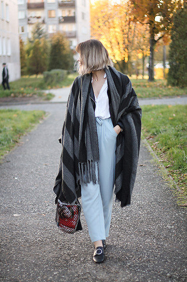 Martyna Lupa - Bershka, Vintage, Pull&Bear - Poncholover
