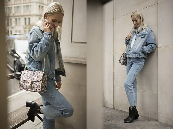 Ida Cupas - Tally Weijl Jacket - Denim Total Look