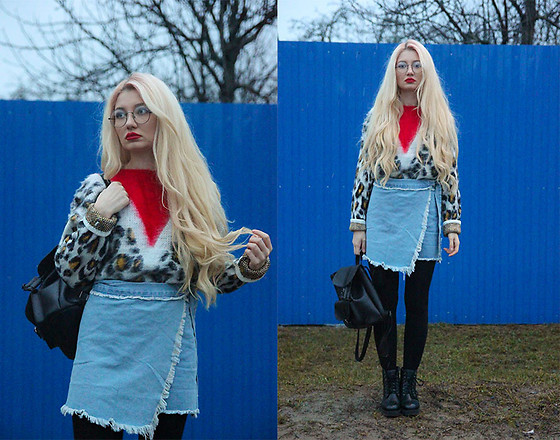 ♡Anita Kurkach♡ - Romwe Sweater, Romwe Skirt - THIS OUTFIT