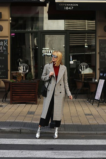 Ana Vukosavljevic - H&M Coat, Ego Ankle Boots, Picard Bag - How To Pick The Perfect Coat For Winter?