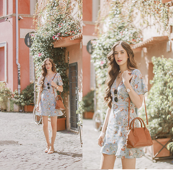 María Rubio - Primark Dress, Mango Bag - Rome