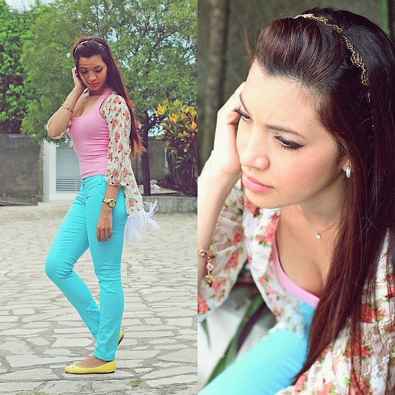 Suene Fernandes -  - Casual Cute look. Candy Colors *.*