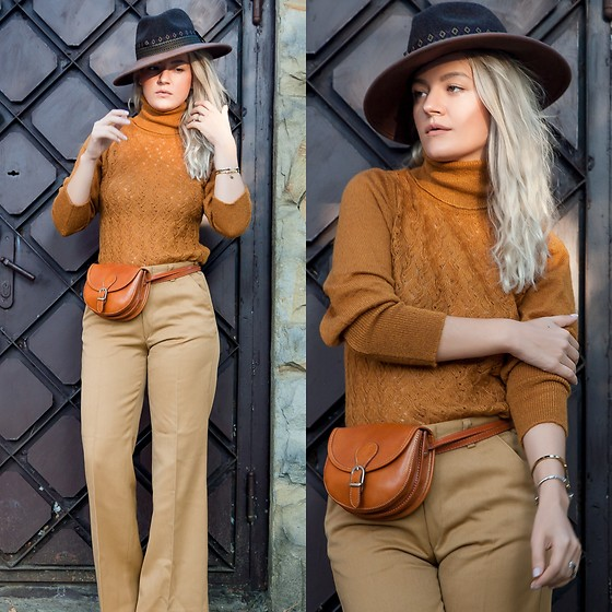 Cristina Tabun - Hermina Moldova Sweater, Asos Hat - Fall OFF