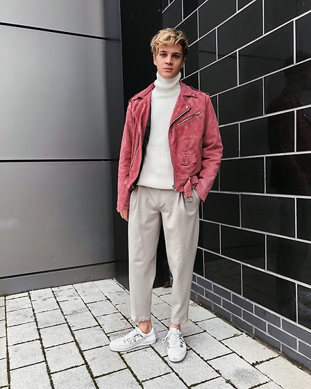 Peter Jones - Asos Jacket, Zara Turtle Necks, Asos Trousers, H&M Shoes - Spring ig peterjonesstyle