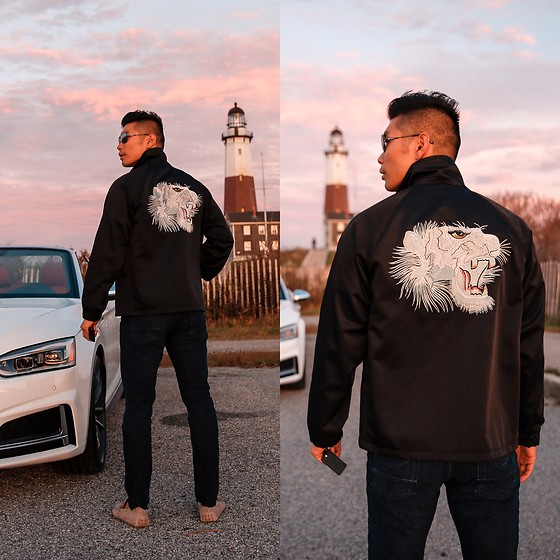 Leo Chan - Marc Jacobs Jacket With Tiger Embroidery, Audi S5 - Audi S5 in the Hamptons