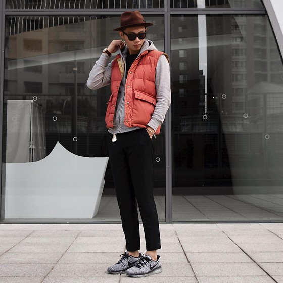Anan Chien - Cheap Monday Sunglasses, Uniqlo Jacket, Sst&C Pants, Nike Shoes - 2017/12/14