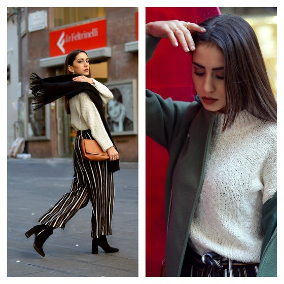 Roberta De Martino - Stradivarius Pullover, Pull & Bear Pants, Stradivarius Boots, Bershka Bag, Zaful Rings - Around Naples