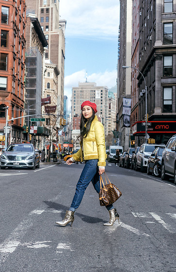 Tina Lee -  - Colorful Winter Outfit