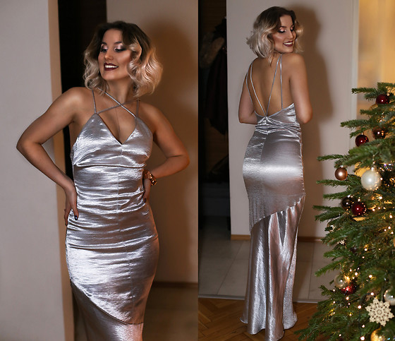 Panda Mone - Silver Maxi Dress - ...AND HAPPY NEW YEAR!