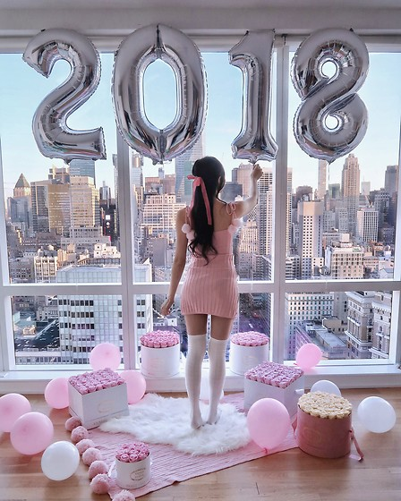 Tina Lee -  - Happy New Year 2018!