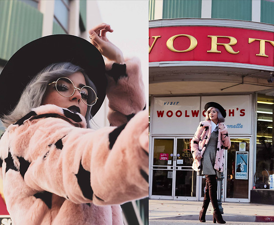 KENDALL SANCHÈZ - Faux Fur Coat, Style Baus Blog Post - .Celestial Child.