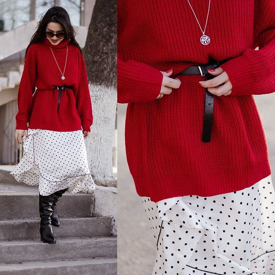 Diyora Beta -  - Red jumper