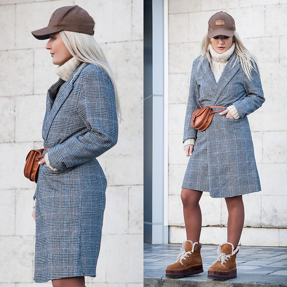 Cristina Tabun - Zaful Coat, Menorquinas Popa Shoes - Madison Shoes
